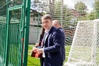 Открытие нового футбольного поля, Фото: 37