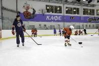 Легенды хоккея провели мастер-класс в Туле, Фото: 7
