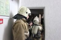 Пожарные ликвидировали условное возгорание в здании тульской ЕДДС, Фото: 12