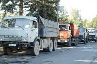 Субботник в Пролетарском округе Тулы, Фото: 14