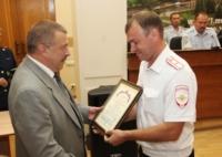 В УМВД вручили медали и награды отличившимся в службе ГИБДД, Фото: 8