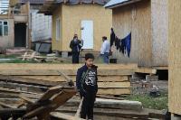 В тульском селе сносят незаконные цыганские постройки, Фото: 1