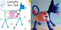Игрушки, сшитые по рисункам детей, Фото: 1