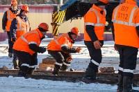 Учения МЧС на железной дороге. 18.02.2015, Фото: 46