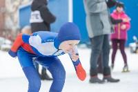 В Туле прошли массовые конькобежные соревнования «Лед надежды нашей — 2020», Фото: 36