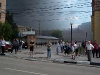 Загорелся недостроенный ТЦ на Красноармейском проспекте, Фото: 21