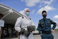 Тульские спасатели продезинфицировали автовокзал «Восточный», Фото: 12