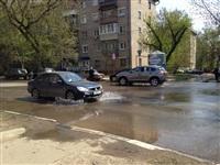 В центре Тулы хлещет вода, Фото: 1