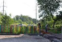 В Пролетарском округе Тулы продолжается асфальтирование дворов, Фото: 6