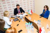 Владимир Груздев пообщался с журналистами «Слободы» и Myslo, Фото: 6