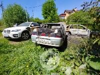 Цыганский конфликт в Туле: ночью подожжены четыре автомобиля, Фото: 5