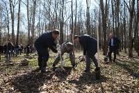 Посадка деревьев в Комсомольском парке, Фото: 27