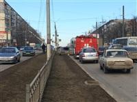 ДТП в районе перекрестка ул. Ложевой с ул. Калинина., Фото: 1