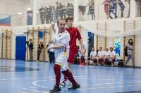 Мэр Тулы Юрий Цкипури и команда ветеранов «Фаворит» сыграли в футбол с волонтерами, Фото: 45