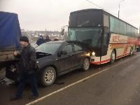 Массовое ДТП под Тулой на Калужской шоссе, Фото: 7