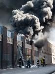 Загорелся недостроенный ТЦ на Красноармейском проспекте, Фото: 40