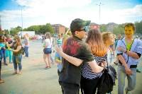 В Туле прошел фестиваль красок и летнего настроения, Фото: 86
