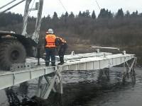 Монтаж моста в Архангельской области, Фото: 23