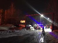 Крупный пожар в Ленинском: загорелся склад на заводе битумных изделий, Фото: 9