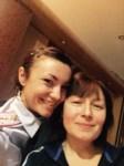 Капитан полиции Татьяна Петрик с мамой. Тульская область, Фото: 5