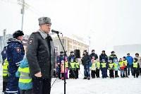 Автофлешмоб на площади Ленина в честь Дня памяти жертв ДТП, Фото: 25
