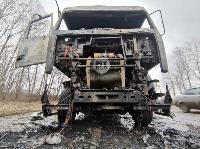 В Петелино сгорел грузовик, Фото: 5