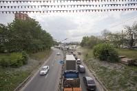 В Туле на Калужском шоссе столкнулись фура и легковушка, Фото: 1