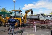 В посёлке Южный стартовали работы по обустройству ливневой канализации, Фото: 7