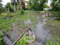 Дворы на Красноармейском проспекте затопило нечистотами, Фото: 12