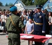 Командиру 106-й гвардейской воздушно-десантной дивизии вручено Георгиевское знамя, Фото: 20