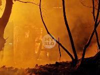 Крупный ночной пожар в Туле, Фото: 11