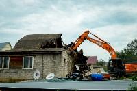 В Плеханово убирают незаконные строения, Фото: 49