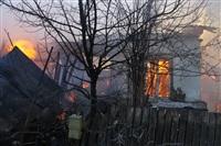 Пожар в жилом бараке, Щекино. 23 января 2014, Фото: 8