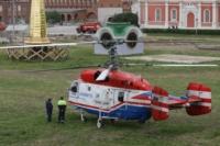 Установка шпиля на колокольню Тульского кремля, Фото: 4