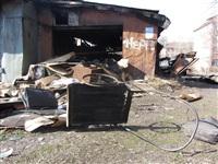 Сгоревшие сараи на улице Немцова в Туле, Фото: 9