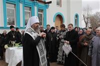 Освящение креста купола Свято-Казанского храма, Фото: 13