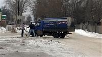 Прорыв канализационного коллектора в Белеве, Фото: 1