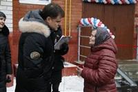 Владимир Груздев в Белевском районе. 17 декабря 2013, Фото: 9