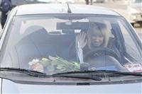 Полицейские поздравили автоледи с 8 Марта, Фото: 8