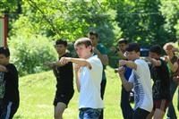Тульский ОМОН провел боевую подготовку школьников, Фото: 2