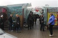 В ходе зачистки на Центральном рынке Тулы задержаны 350 человек, Фото: 1