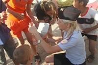 Тульские байкеры и сотрудники ГИБДД навестили детей из обидимской школы-интерната, Фото: 4