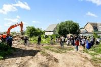 Снос домов в Плеханово. 6 июля 2016 года, Фото: 1