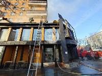 Пожар в пиццерии на Красноармейском, Фото: 5