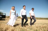 Владимир Груздев принял участие в уборочной кампании, Фото: 5