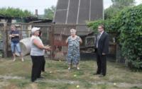 Встреча с погорельцами в Алексине., Фото: 5