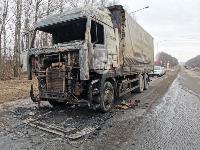 В Петелино сгорел грузовик, Фото: 1