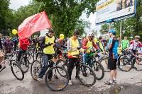 В Туле прошел большой велопарад, Фото: 79