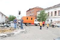 Последствия урагана в Ефремове., Фото: 4
