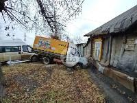 В Туле угнанная маршрутка устроила массовое ДТП, Фото: 12